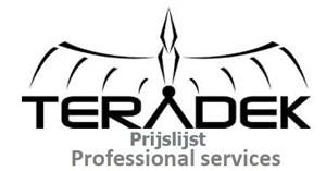 prijslijst professional services